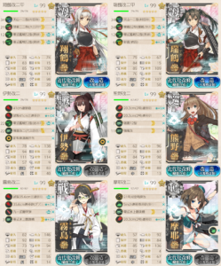 E7ゲージ2本隊第一艦隊