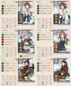 E7ゲージ1ボスマス第一艦隊